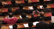 China National People Congress Stock Footage