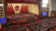 Stock Video Footage of China National People Congress