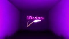 Wisdom Label Stock Footage