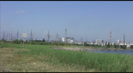Chernobyl Nuclear Power Plant co Stock Footage