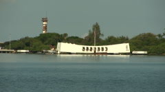 USS Arizona Stock Footage