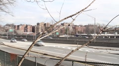 Yonkers, NY City Traffic Stock Footage
