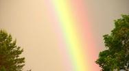 Rainbow phenomenon Stock Footage