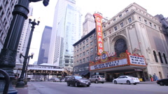 Chicago Theatre Stock Footage