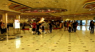 Stock Video Footage of MGM Grand hotel lobby in Las Vegas