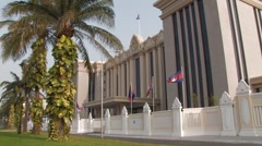 Cambodia: Prime Minsters Office Stock Footage