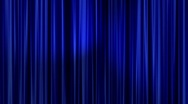 Stock Video Footage of Blue Curtains