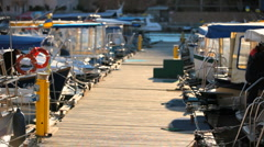 Accommodations Boat Stock Footage