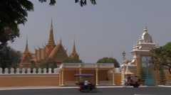 Cambodia: Royal Palace Stock Footage