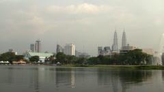 Petronas towers Stock Footage
