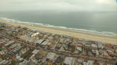 AER-0008 Flying Over Beach 2 Stock Footage