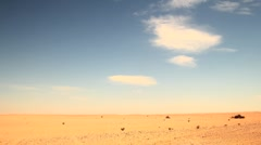 Desert - stock footage