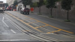 San Francisco Cable Car  - stock footage