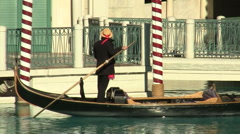 Gondola at the Venetian - HD - stock footage