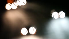 Abstract Freeway Truck lights Stock Footage