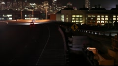 San Francisco Freeway Onramp Stock Footage