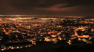 Stock Video Footage of City of San Francisco at Night from Twin Peaks - Clip 2