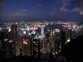 Stock Video Footage of Whip on and off Hong Kong Skyline LOOPABLE_GFSD