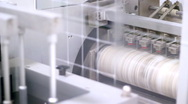 Stock Video Footage of Pill Packaging Machine
