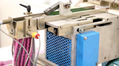 Automated Blister Packaging Machine - stock footage