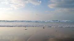 Atlantic Ocean and beautiful cloudscape Stock Footage