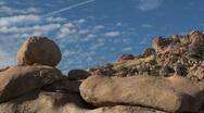 Time Lapse Boulder Landscape Stock Footage