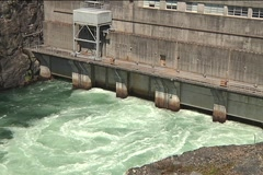 Hydroelectric Power Plant 1 Stock Footage