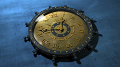 Time Flies - Time Lapse Old Clock 13 (HD) - stock footage