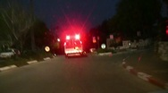 Stock Video Footage of Ambulance chasing to claim insurance money