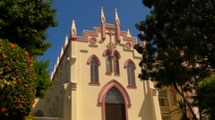 Puerto Rico - Catholic Church 1 Stock Footage