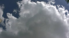 Storm Clouds Forming In Texas Stock Footage