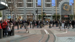Time lapse of San Francisco Cable Cars - Clip 6 Stock Footage