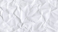 Stock Video Footage of creased paper animation
