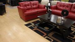 Furniture Showroom  5216 - stock footage