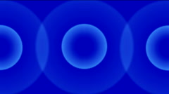 Circle ring pulse radar signal wave radiation radio ripple tunnel background. Stock Footage