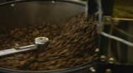 Stock Video Footage of HD1080p25 Coffee roaster machine
