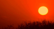 Time Lapse Sun Sets Moon Rises Stock Footage