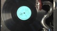 Stock Video Footage of Gramophone