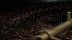 Coffee roasting Stock Footage