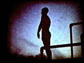 Stock Video Footage of Retro cine - Diver