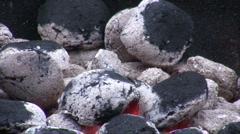 Charcoal grill Stock Footage