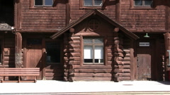 Grand canyon RR Station 032 Stock Footage