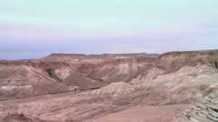 A dried up river  2 Stock Footage