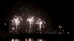 Fireworks 1 Stock Footage