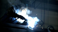 Stock Video Footage of Welding 1