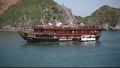 HA LONG BAY VIETNAM_LDA_N_00060.MOV  - stock footage
