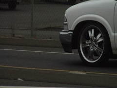 Tire spinners Stock Footage