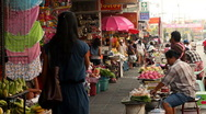 Stock Video Footage of Street Food Market in Thailand