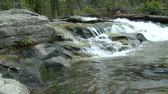 Lake Tahoe Water Fall  Stock Footage