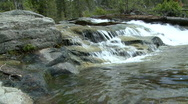 Stock Video Footage of Lake Tahoe Water Fall
